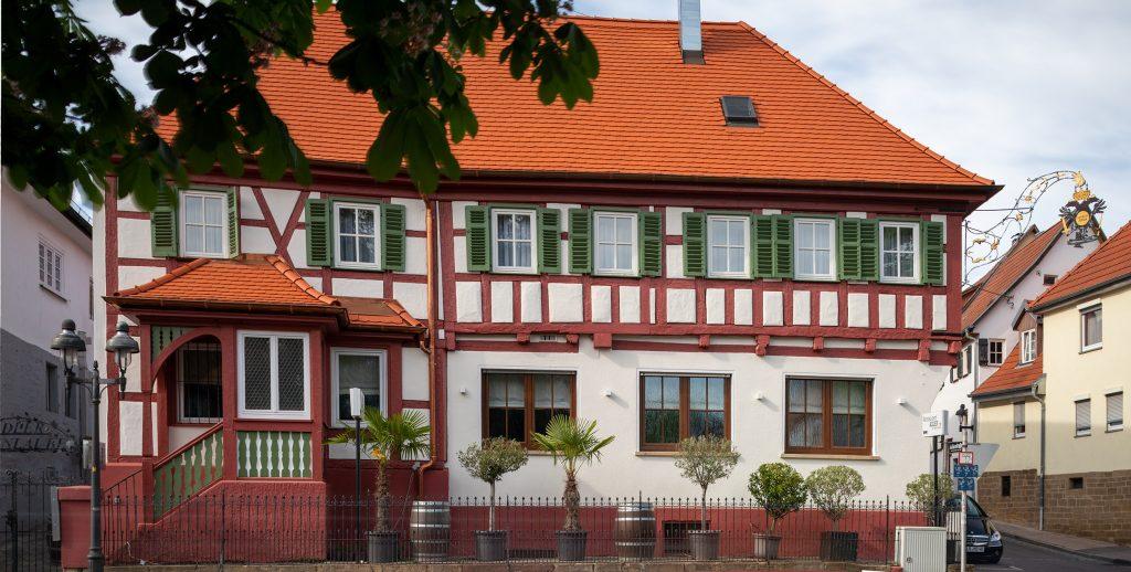 Adler Kornwestheim südliche Frontalansicht